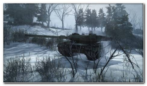 Armored Warfare Snow HD Wallpaper