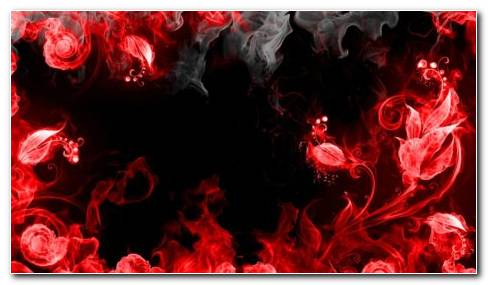 Art Of Red Smokes HD Wallpaper