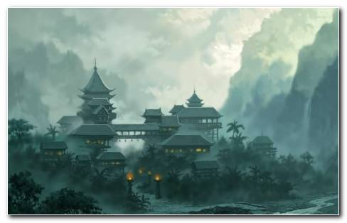 Asian Architecture HD Wallpaper