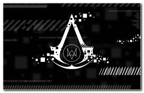 Assassin s Creed logo HD wallpaper