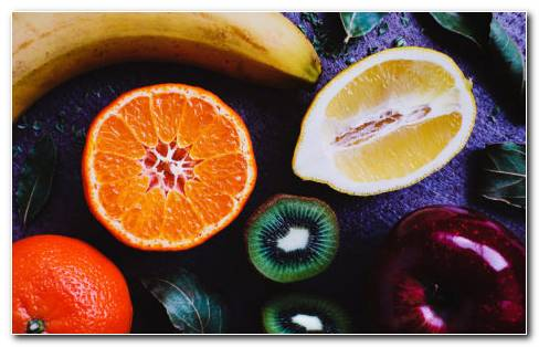 Attractive Color Of Fruits HD Wallpaper