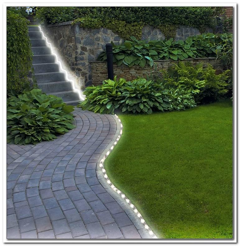 AuEnbeleuchtung Garten Weg