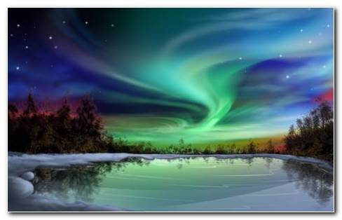 Aurora Photography HD Wallpaper