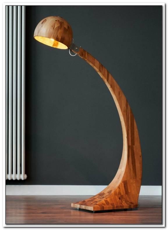 Ausgefallene Lampen Holz