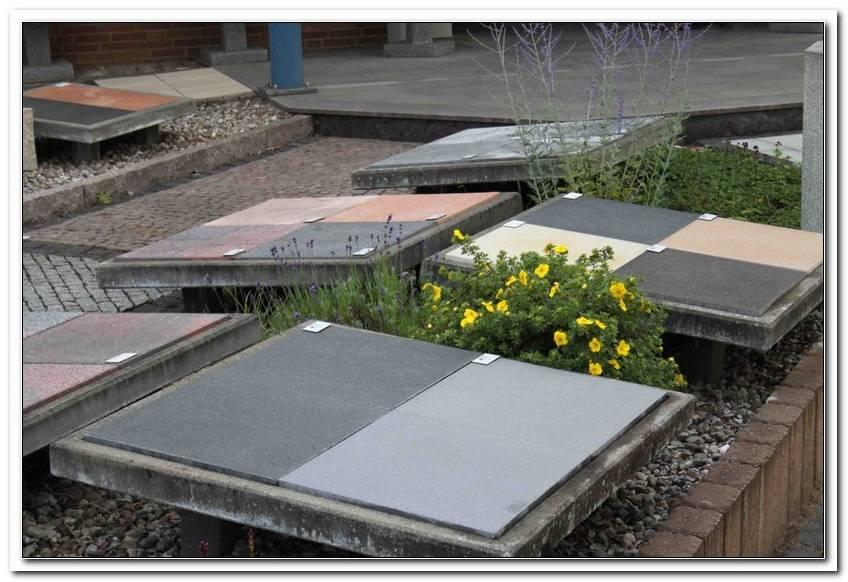 Ausstellung Terrassenplatten
