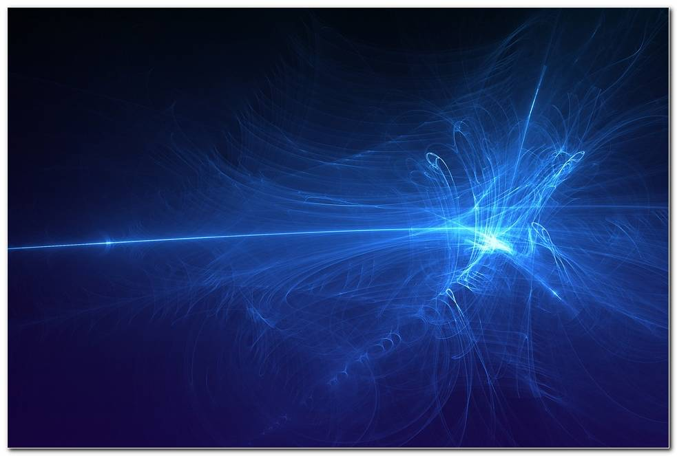 Awesome Blue Light Swirl Background Wallpaper