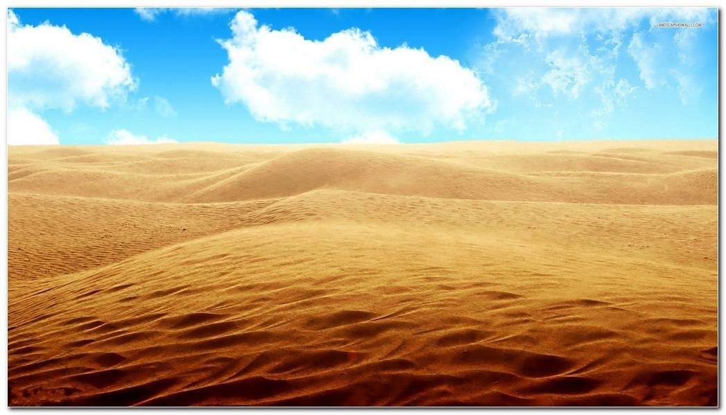 Awesome Desert Nature Desktop Wallpaper Background