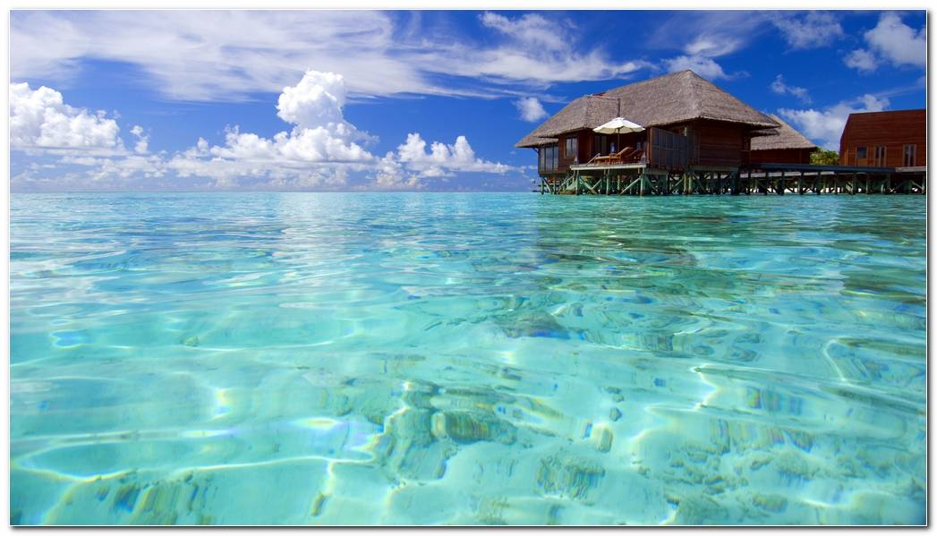 Awesome Maldives Beach Desktop Wallpapers Background