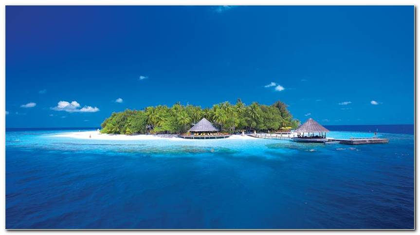 Awesome Maldives Beach Wallpapers Background Wide