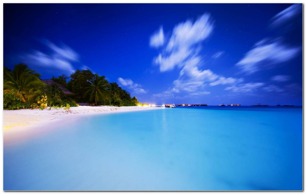 Awesome Tropical Nature Wallpaper Background