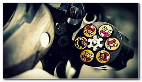 Awesome face bullets HD wallpaper
