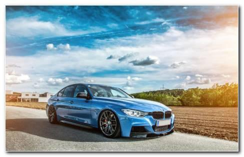 BMW F30 HD Wallpaper