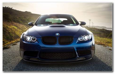 BMW Laguna Blue HD Wallpaper