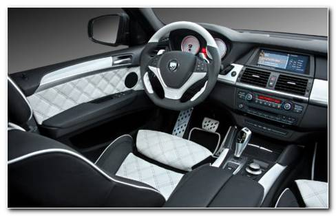 BMW X6 Interior HD Wallpaper