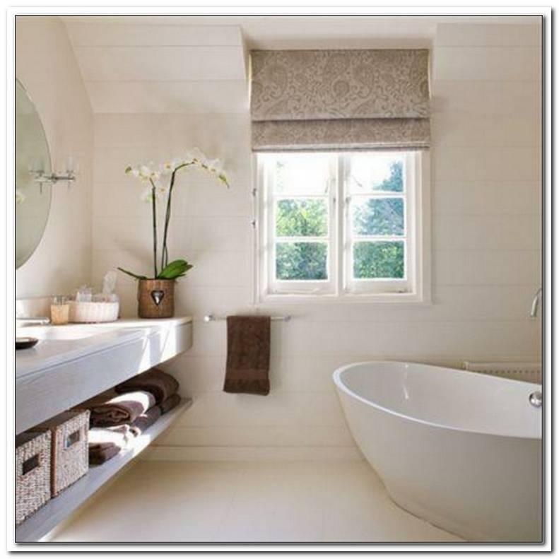 Badezimmer Fenster Deko