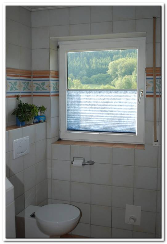 Badezimmer Fenster Gardine