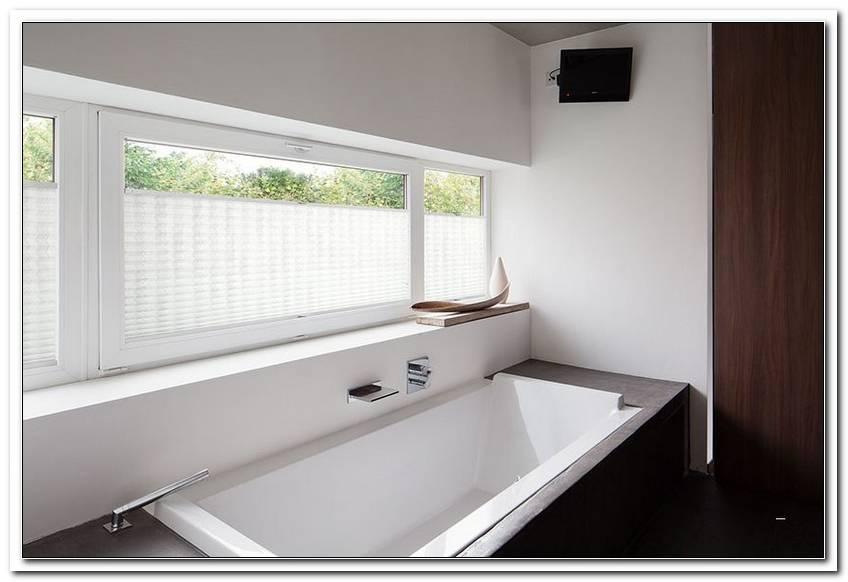 Badezimmer Fenster Plissee