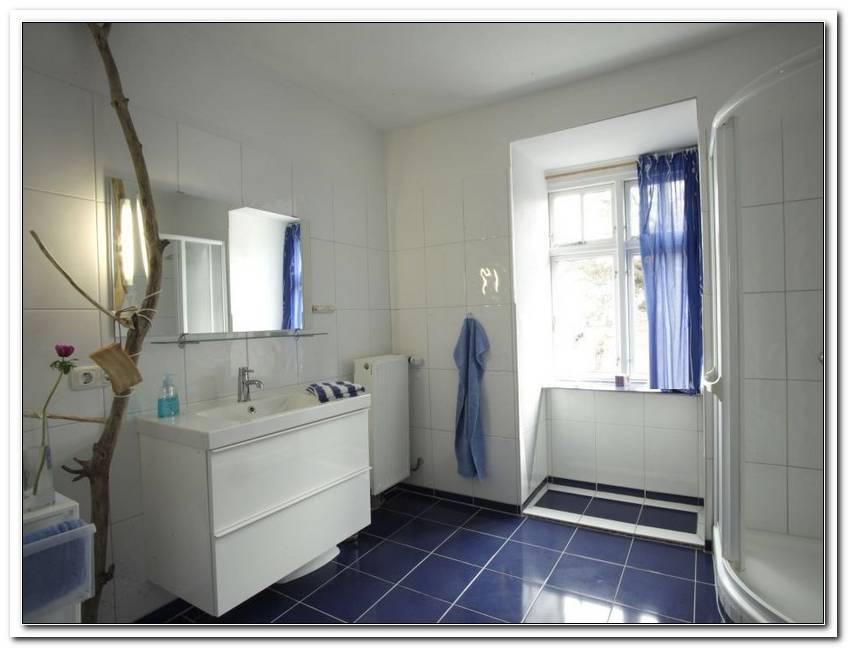 Badezimmer Weis Blau