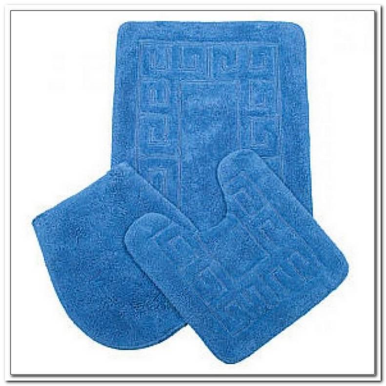 Badezimmergarnitur 3 Teilig Blau