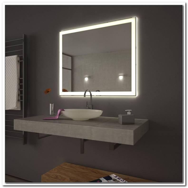 Badezimmerspiegel Mit Beleuchtung G?Nstig