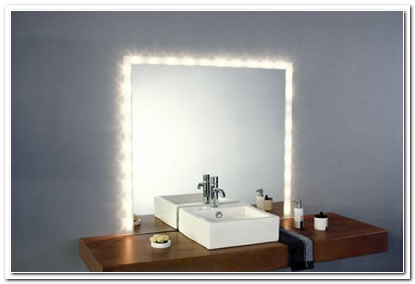 Badspiegel Beleuchtung Schminken
