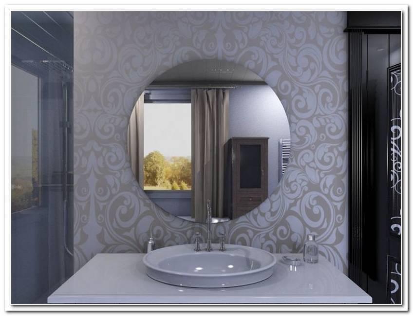 Badspiegel Rund Ohne Beleuchtung