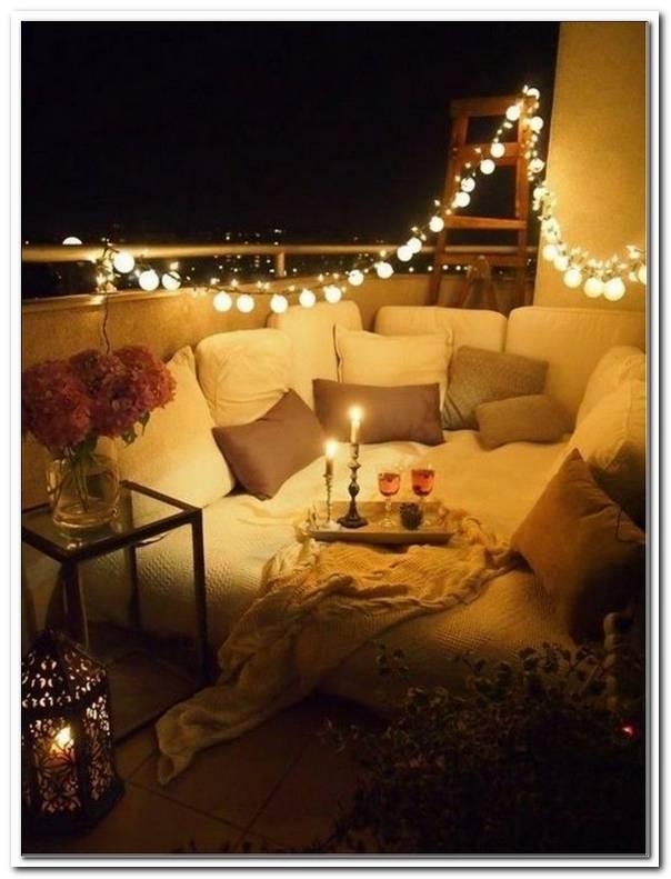 Balkon Beleuchtung Ideen