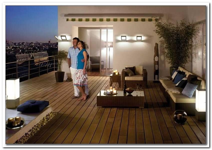 Balkon Beleuchtung Mit Strom