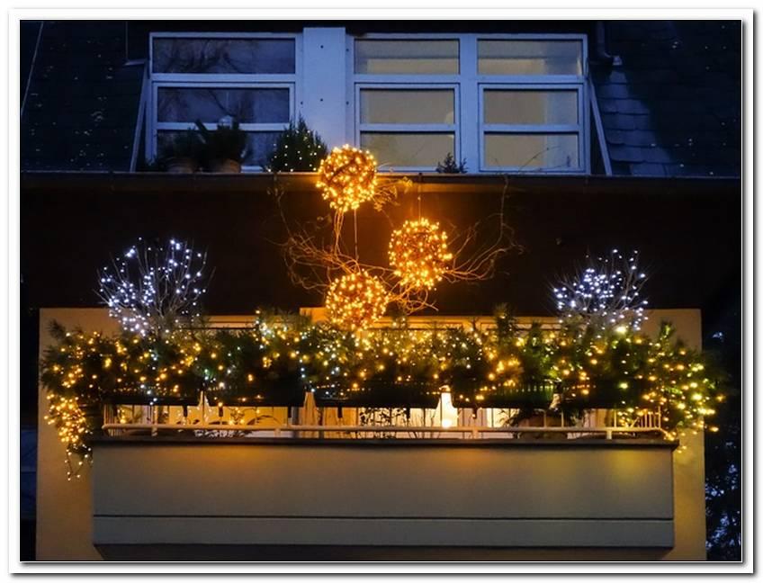 Balkon Beleuchtung Weihnachtenbalkon Beleuchtung Weihnachten