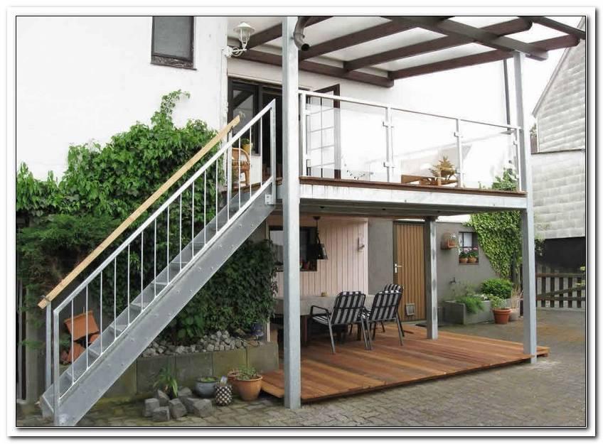 Balkon Mit Treppe In Den Garten Kosten