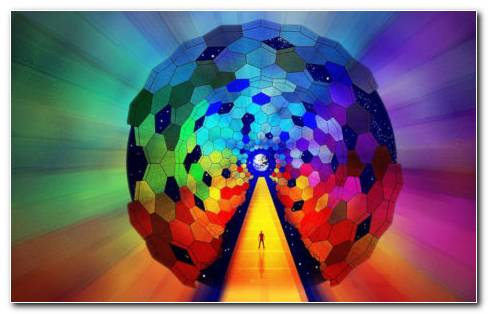Ball Of Colors HD Wallpaper