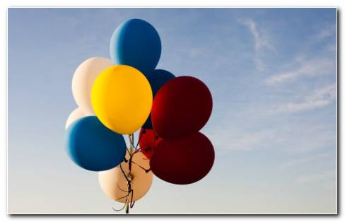 Balloons For Baby Shower HD Wallpaper