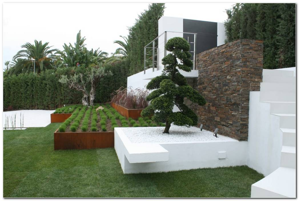 Banco Jardin Minimalista