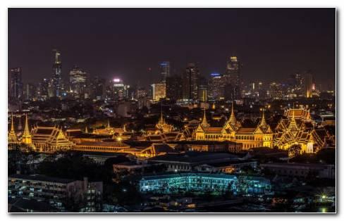 Bangkok Architecture HD Wallpaper