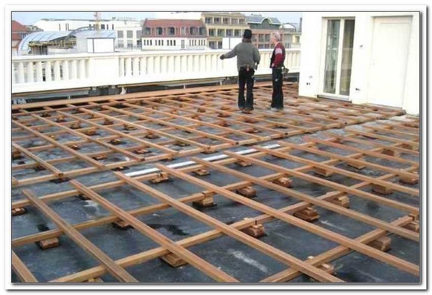 Bankirai Terrasse Unterkonstruktion