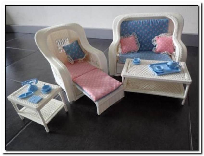Barbie Wohnzimmer 80er