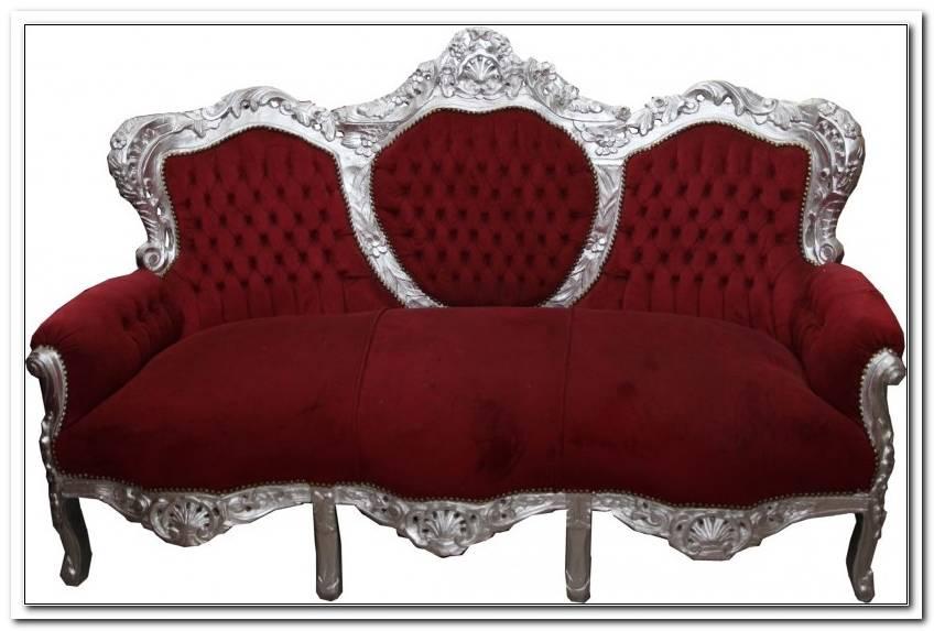 Barock Sofa Garnitur