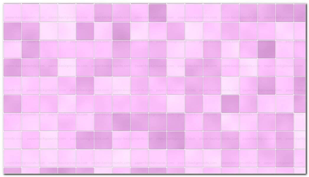 Bathroom Tiles Random Pink Background