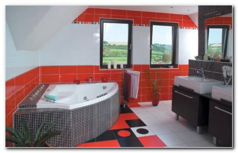 Bathroom Tiles HD Wallpaper