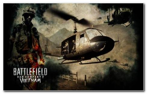 Battlefield Bad Company 2 Vietnam HD Wallpaper