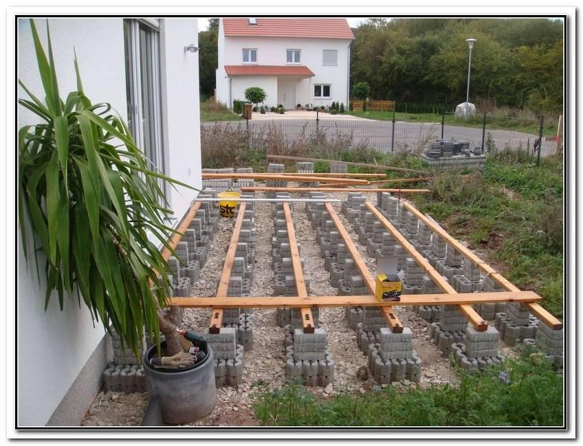 Bau Einer Terrasse
