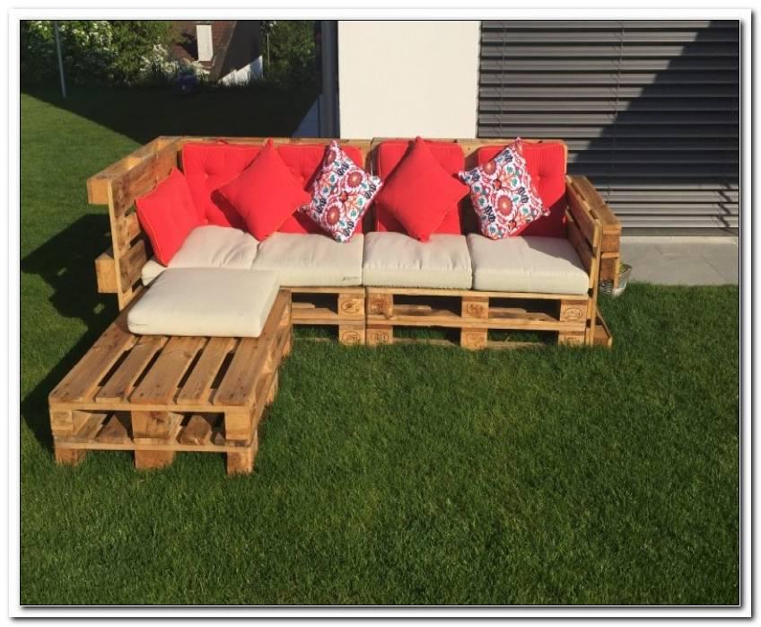 Bauanleitung Lounge Sofa Garten