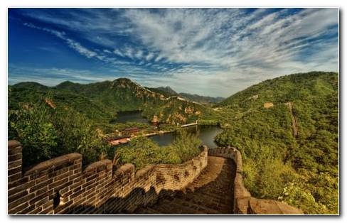 Beautiful Great Wall Of China