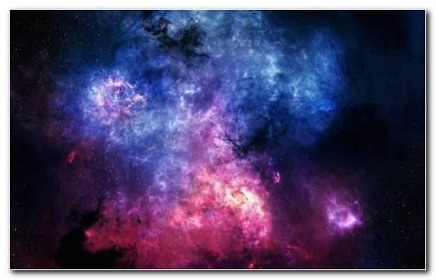 Beautiful Nebula S Colliding In Space