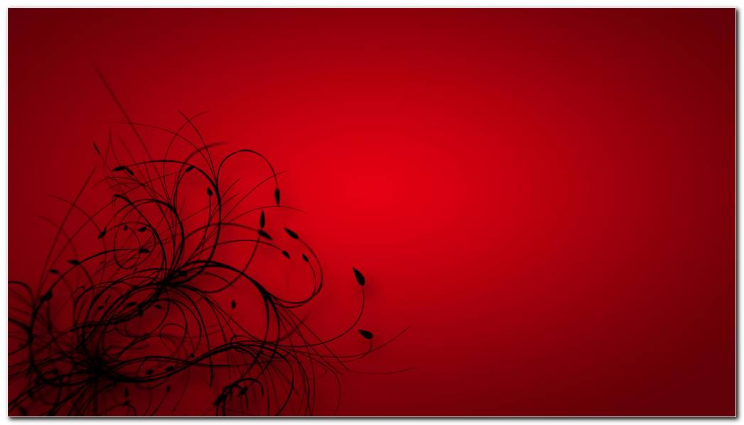 Beautiful Red & Black Wallpaper
