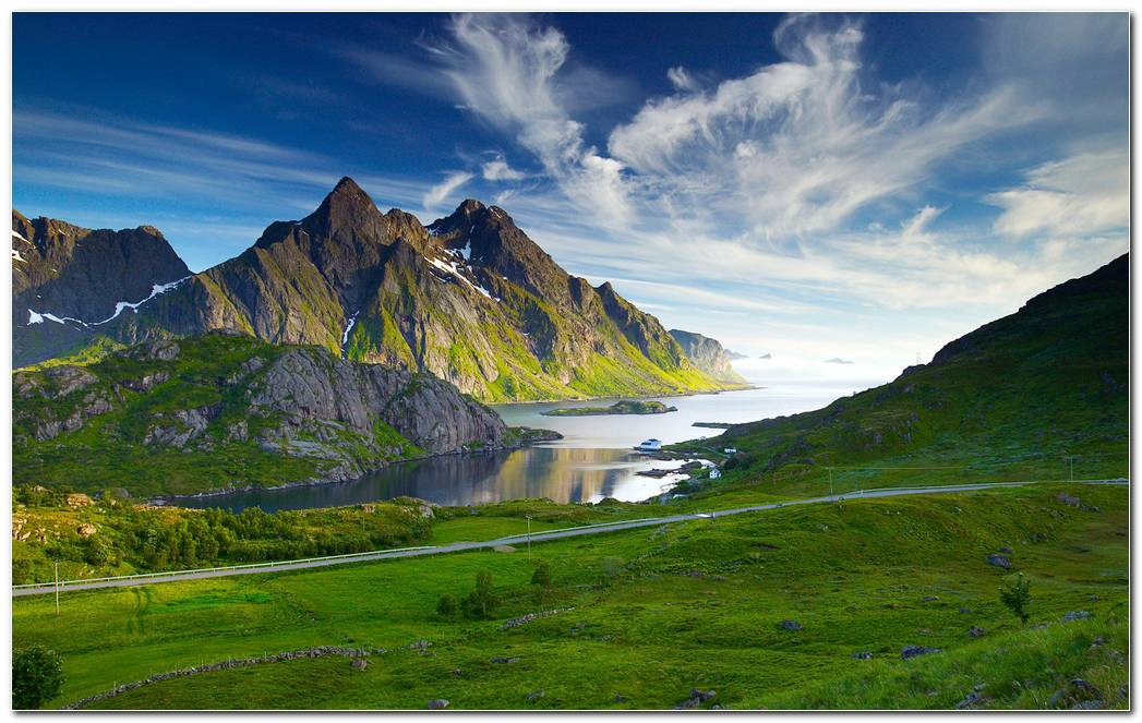 Beautiful Swedish Landscape Wallpapers Background