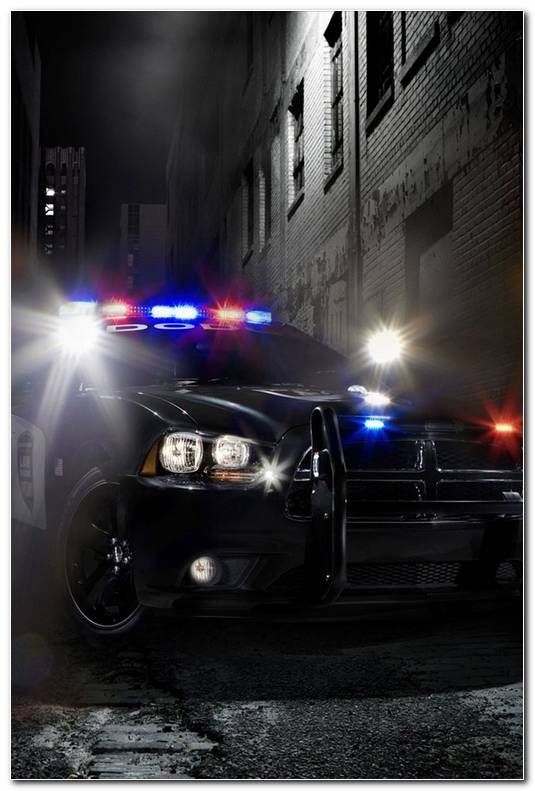 Beautiful Police Car IPhone Wallpapers Background And Themes 640x960