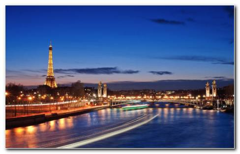 Beauty Of Paris HD Wallpaper