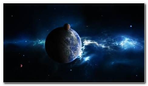 Beauty Of Dark Space HD Wallpaper