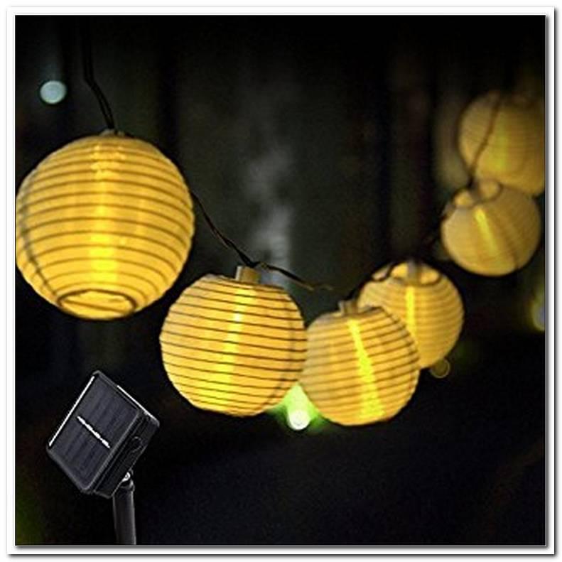 Beleuchtung Balkon Solar